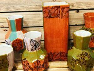 Handmade Pottery Vases